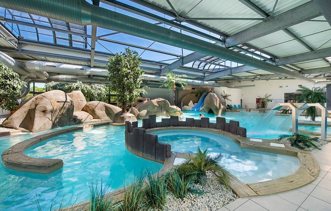 Brem sur mer - Camping l'Océan : Indoor swimming pool