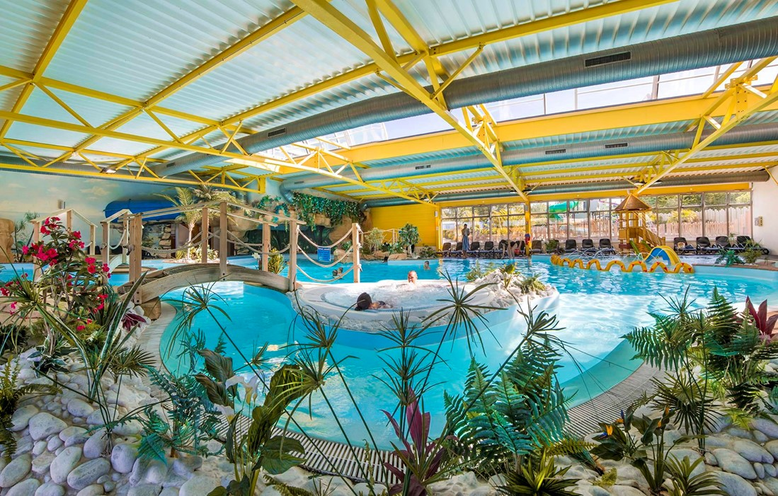 Les Sables d'Olonne - Camping  Le Bel Air : Indoor swimming pool