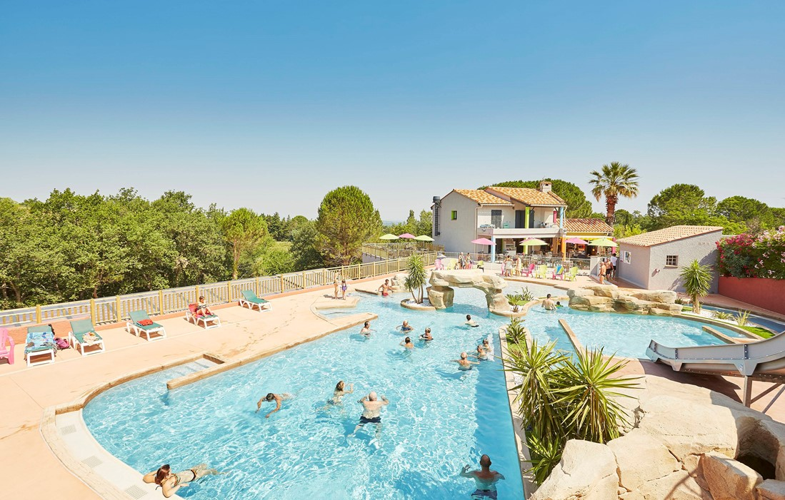 Laroque-des-Albères - Camping Les Albères : Outdoor swimming pool