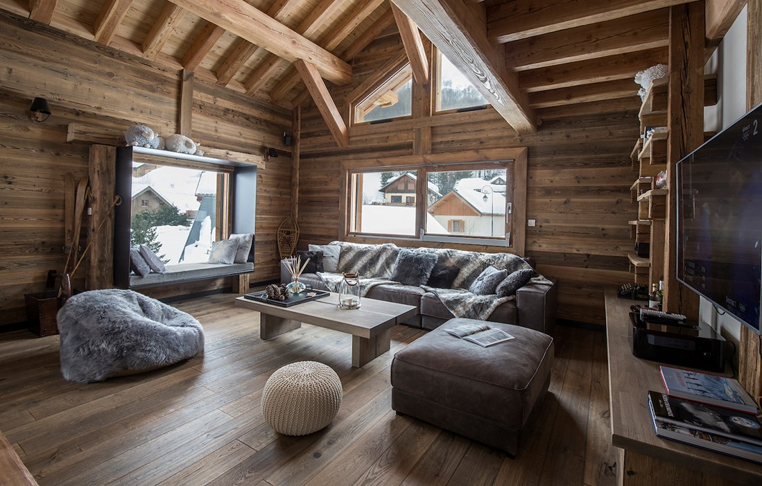 Valloire - Chalet Or des Cimes : Inside of the chalet