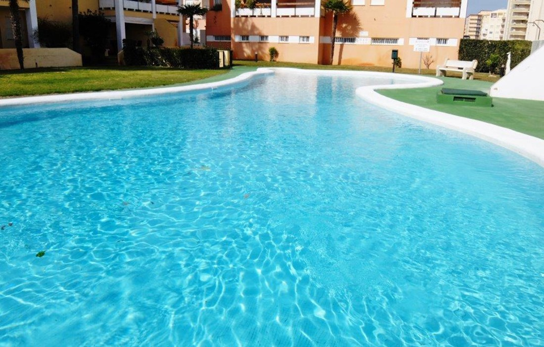 Spain - Xeraco - Résidence Deltamar II : Outdoor swimming pool