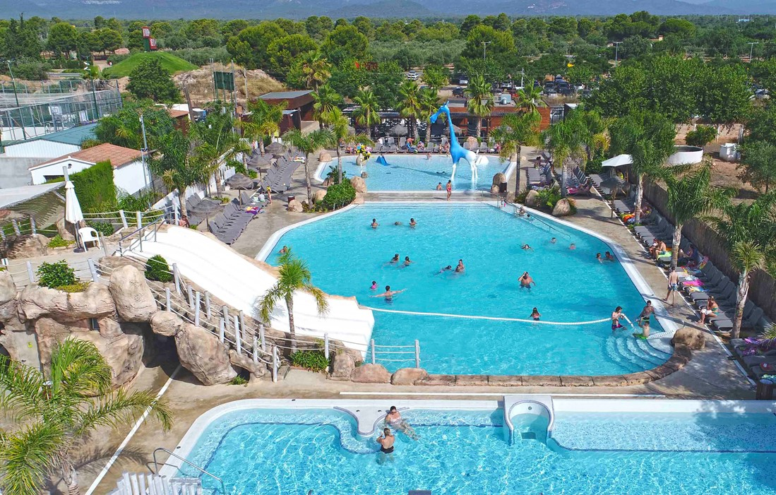 Miami Playa - Camping Els Prats : Outdoor swimming pool