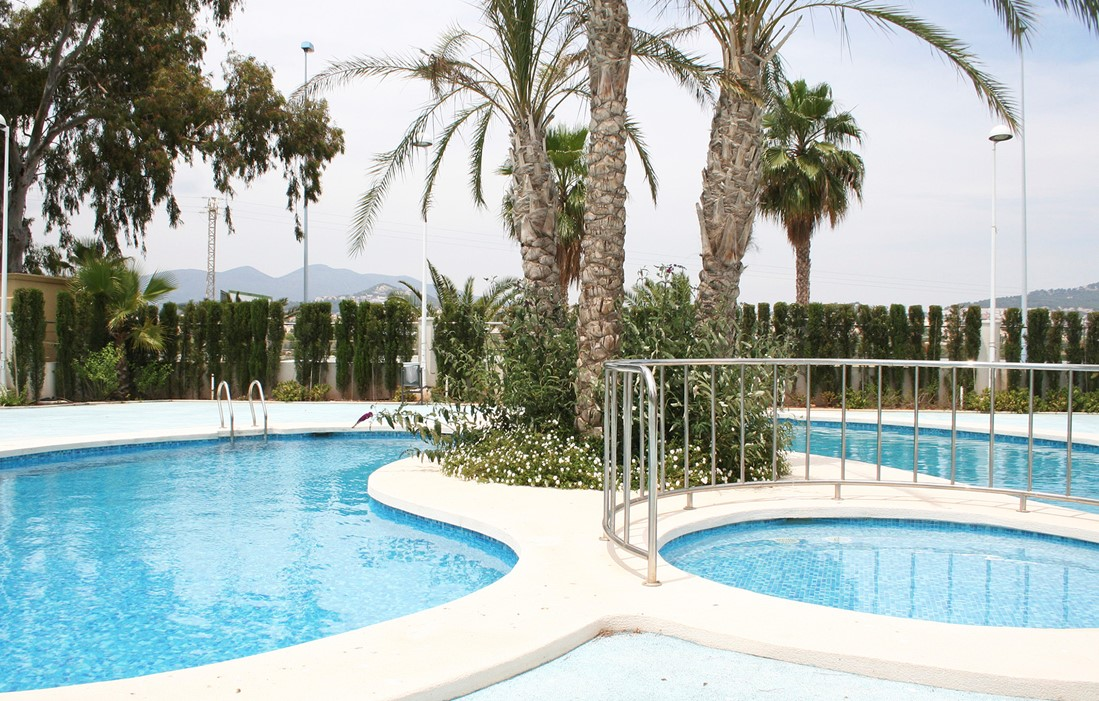 Calpe - Spain - Residence Larimar : Outdoor swimming pool