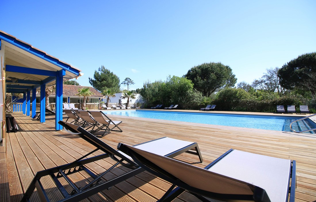 Ondres - Camping Espace Blue Océan : Outdoor swimming pool