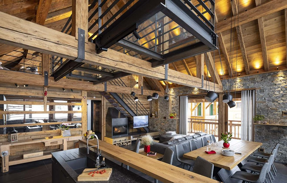 Les Deux Alpes - Chalet L'atelier : Inside accommodation