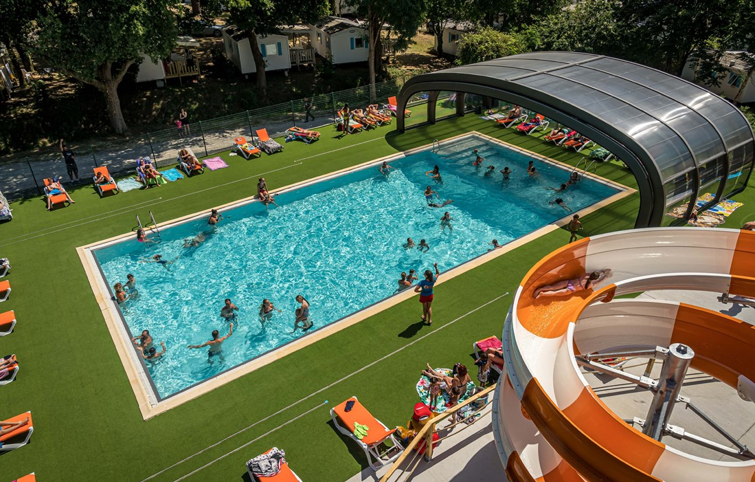 La Baule - Camping Les Ajoncs d'Or : Outdoor swimming pool