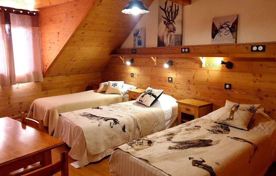 Location Les Deux Alpes - Chalet Les Rousses : Intérieur du logement