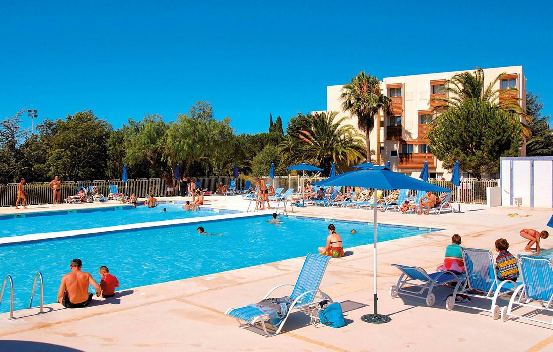 La Londe les Maures - Odalys Club Residence L'Ile d'Or : Outdoor swimming pool