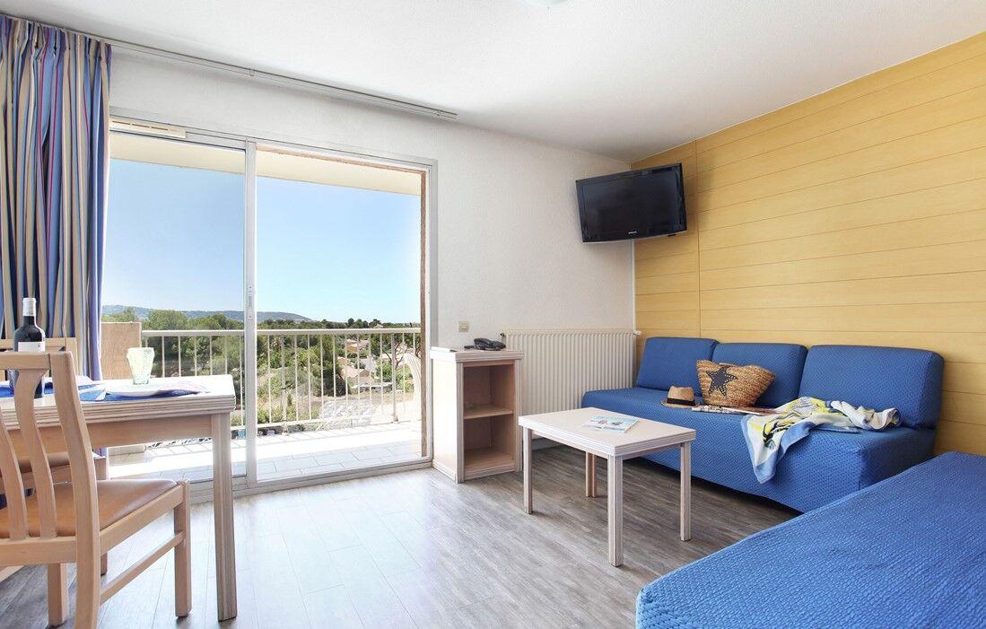 Balaruc les Bains - Résidence Odalys Les Hauts de Balaruc : Intérieur d'un logement