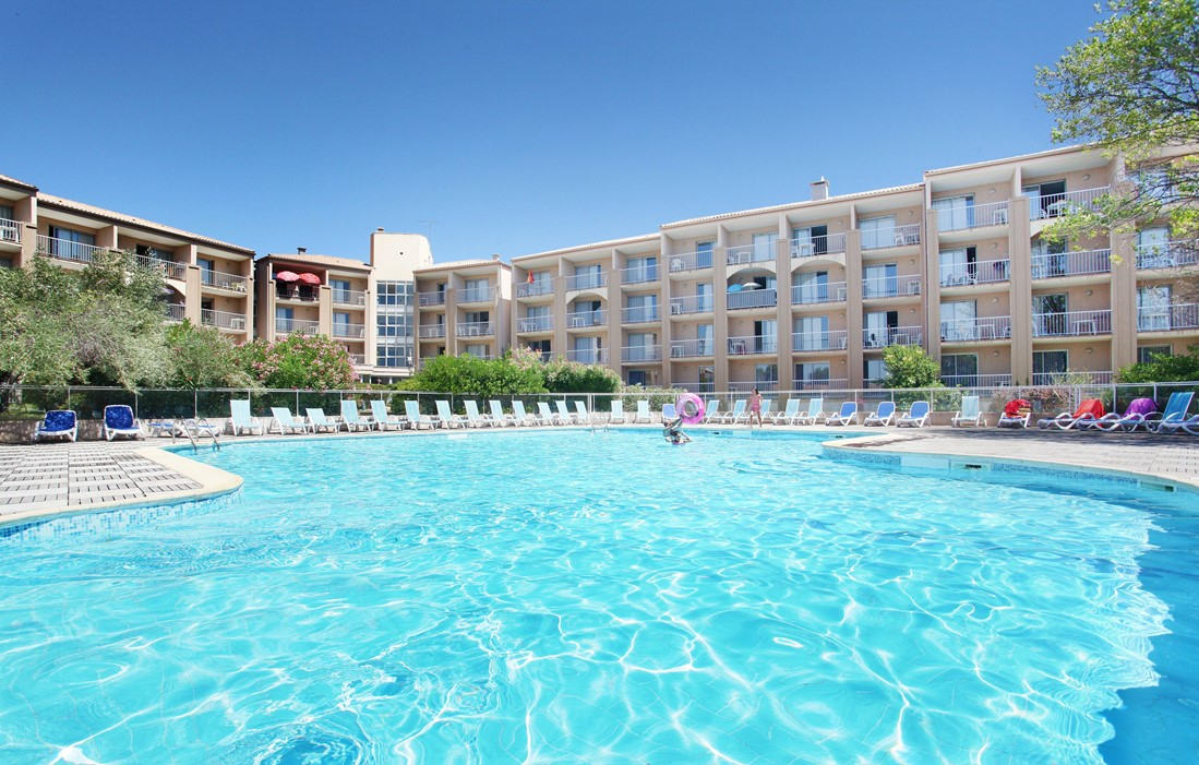 Balaruc les Bains - Odalys Residence Les Hauts de Balaruc : Outdoor swimming pool