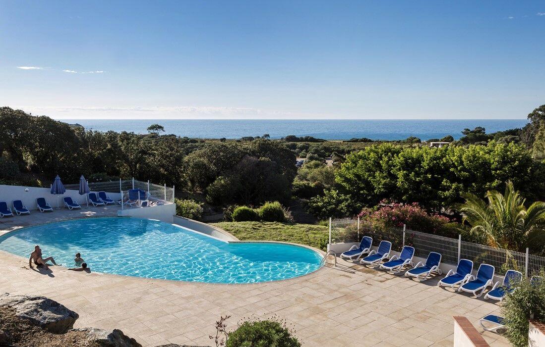 Belgodère - Odalys Residence Les Hameaux de Capra Scorsa : Outdoor swimming pool