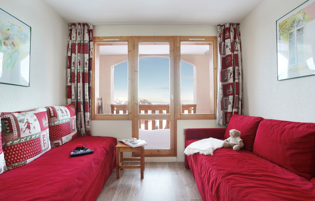 Belle Plagne - Odalys Residence La Licorne : Inside of an apartment