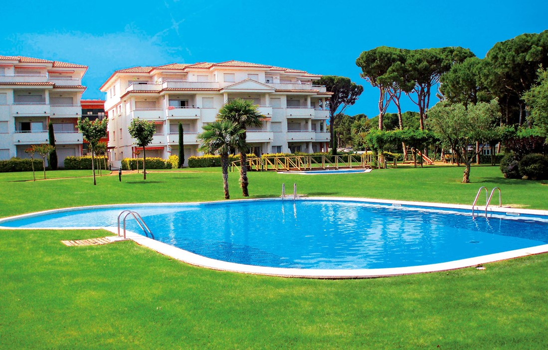 Spain - Playa de Pals - Residence Green Mar : Outdoor swimming pool