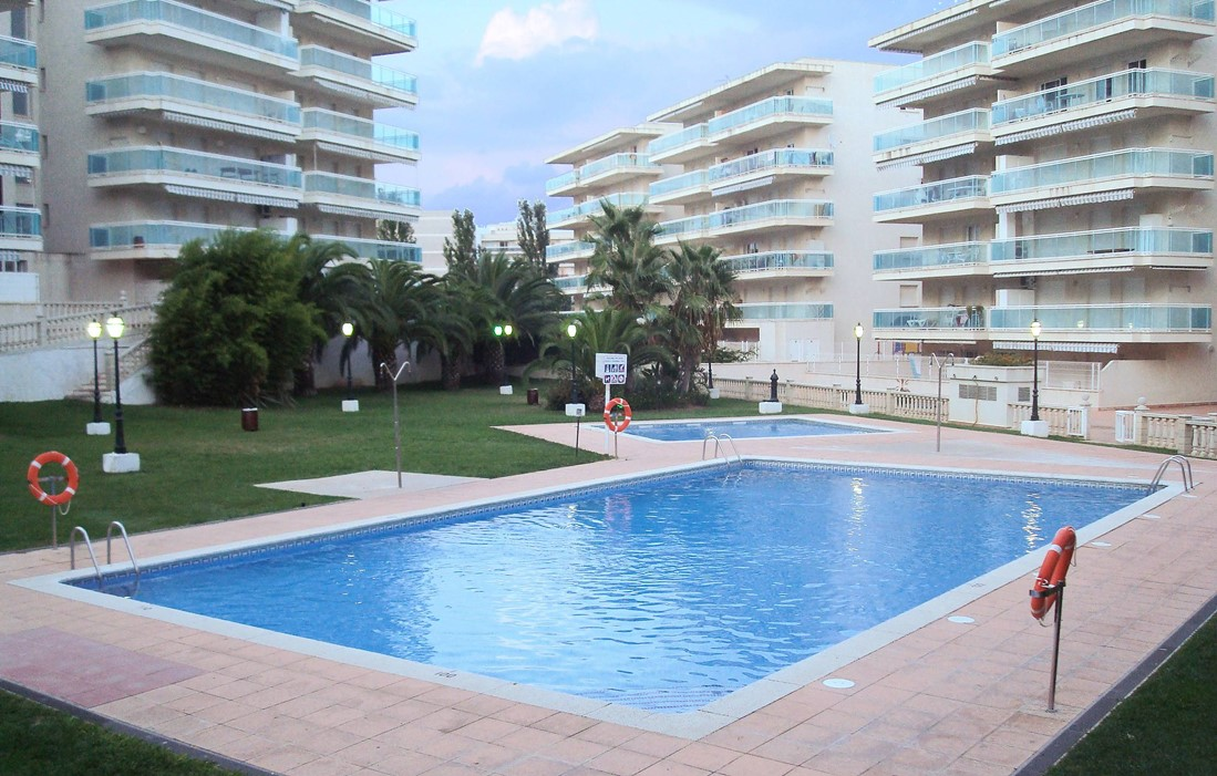 Spain - Salou - Résidence Village Park : Outdoor swimming pool