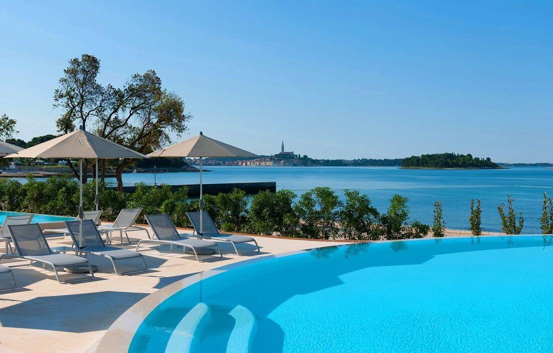 Croatie - Rovinj - Résidence Amarin : Piscine découverte