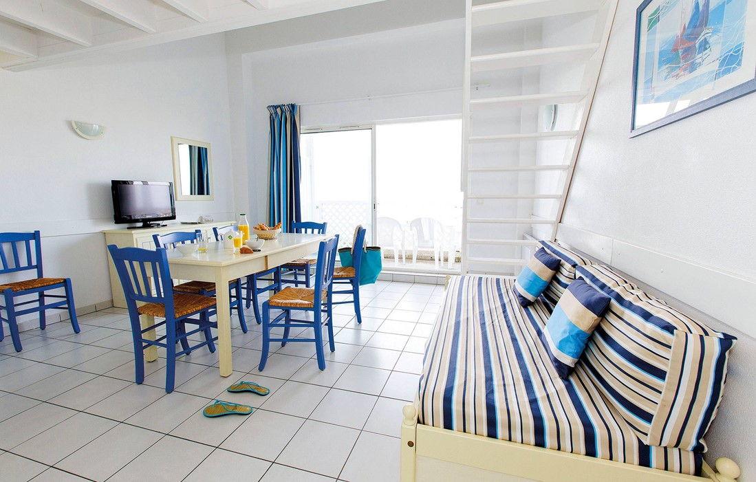 Fouras - Résidence Odalys Les Terrasses de Fort Boyard : Intérieur d'un logement