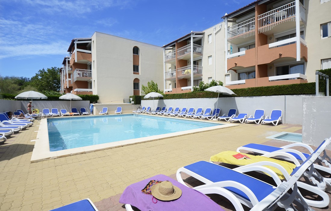 Cap d'Agde - Odalys Residence Primavera : Outdoor swimming pool