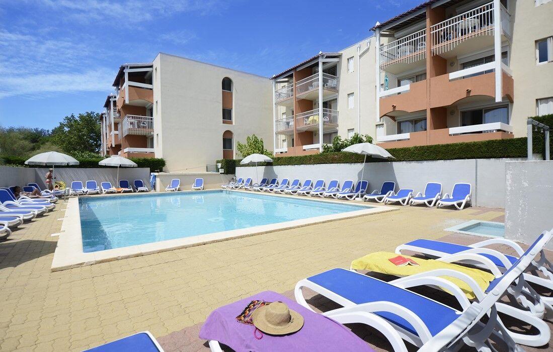 Cap d'Agde - Résidence Odalys Primavera : Piscine découverte