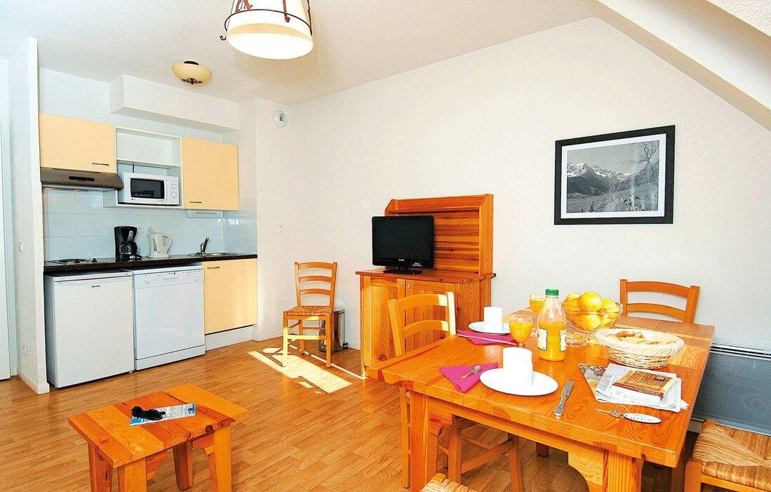 Luchon - Résidence Odalys Illixon : Intérieur d'un logement