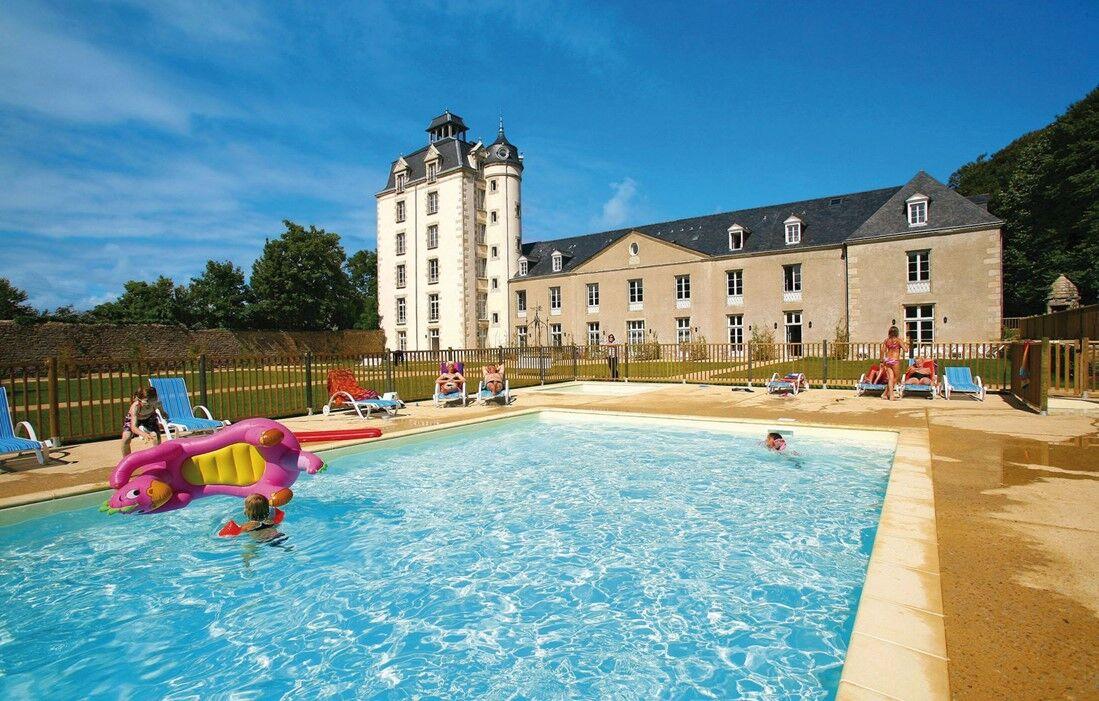 Erdeven - Résidence Prestige Odalys Le Château de Keravéon : Piscine découverte