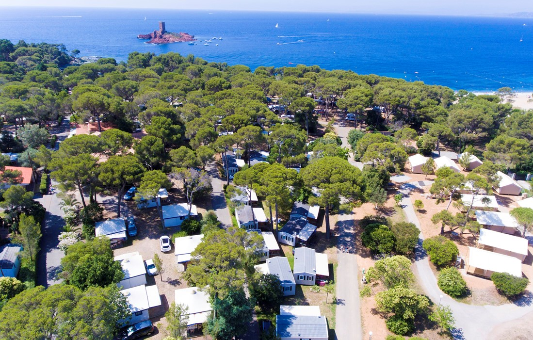 Agay - Camping Le Dramont
