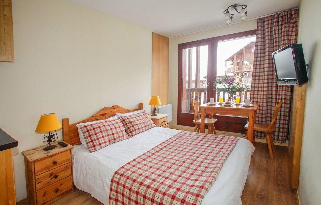 Tignes - Hôtel Odalys Chalet Alpina : Intérieur d'un logement