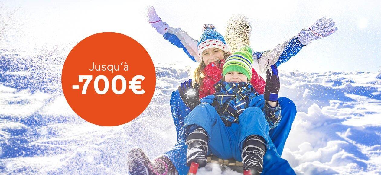 Conditions Offre Jusqu'à 700€ de réduction Vacances Février 2019