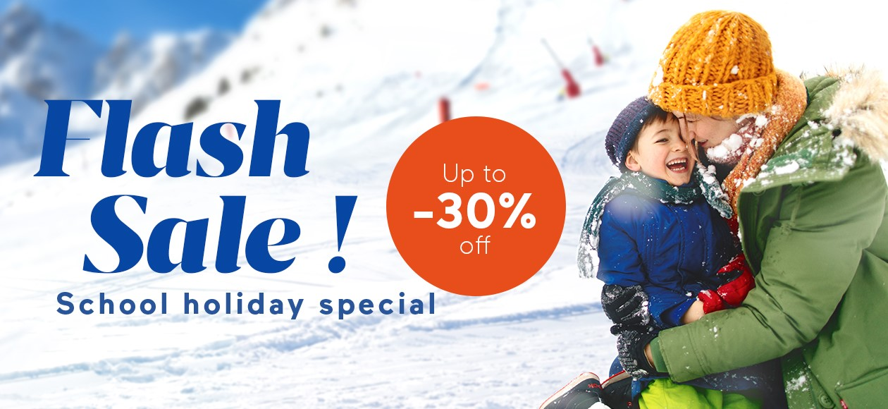 Ski Flash Sale : Terms & Conditions
