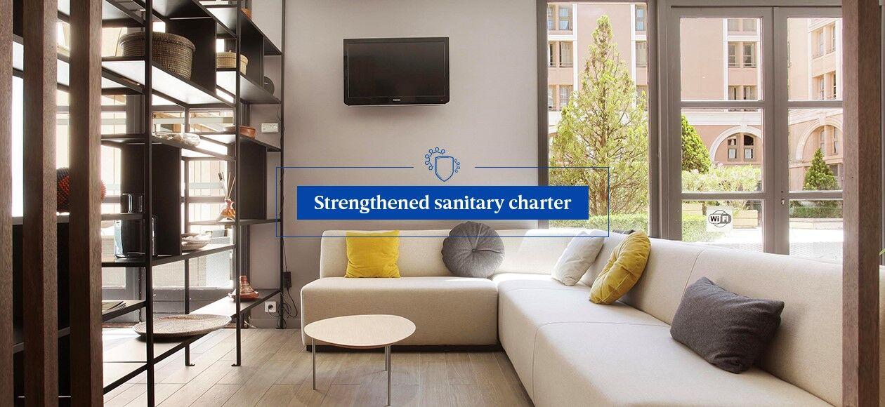 Strengthened sanitary arrangements