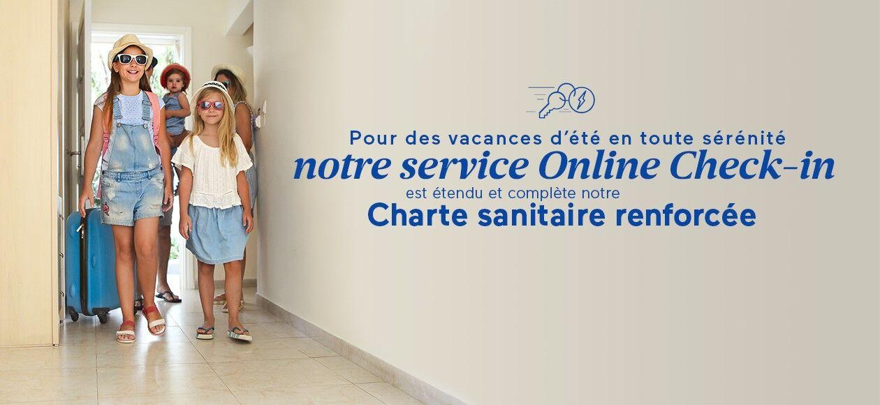 Découvrez le Online check-in avec Odalys Vacances
