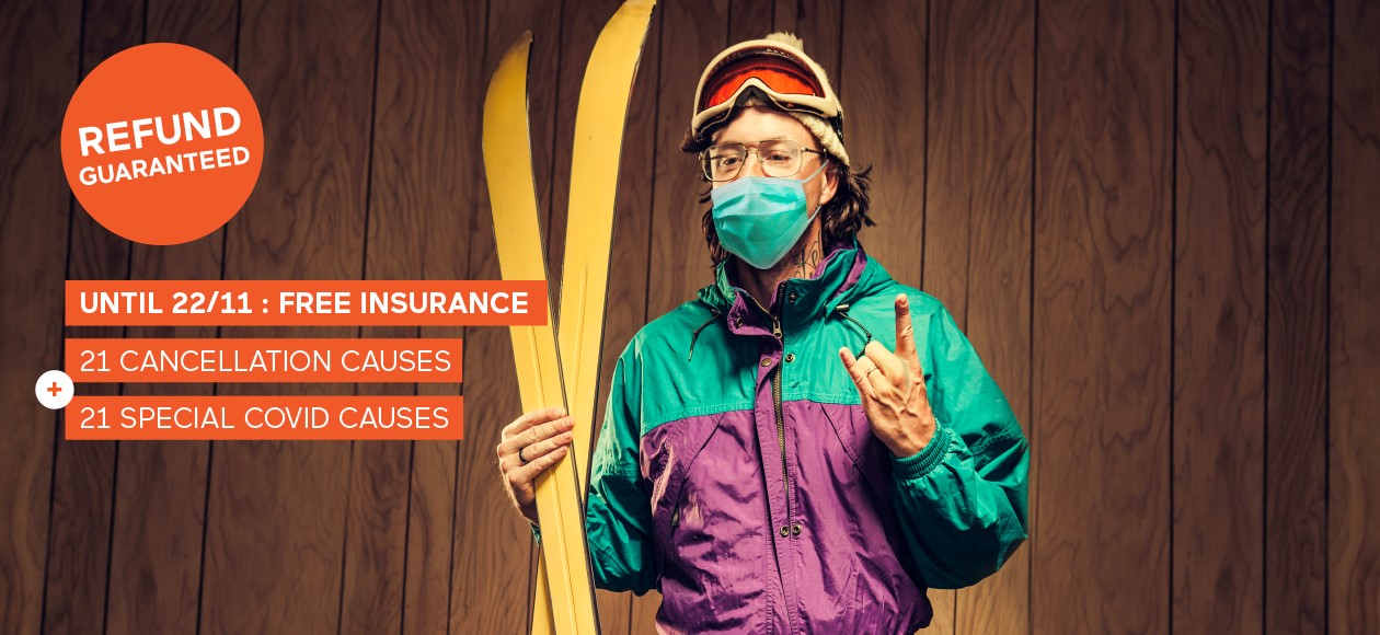 Go Skiing, You're Covered Offer
