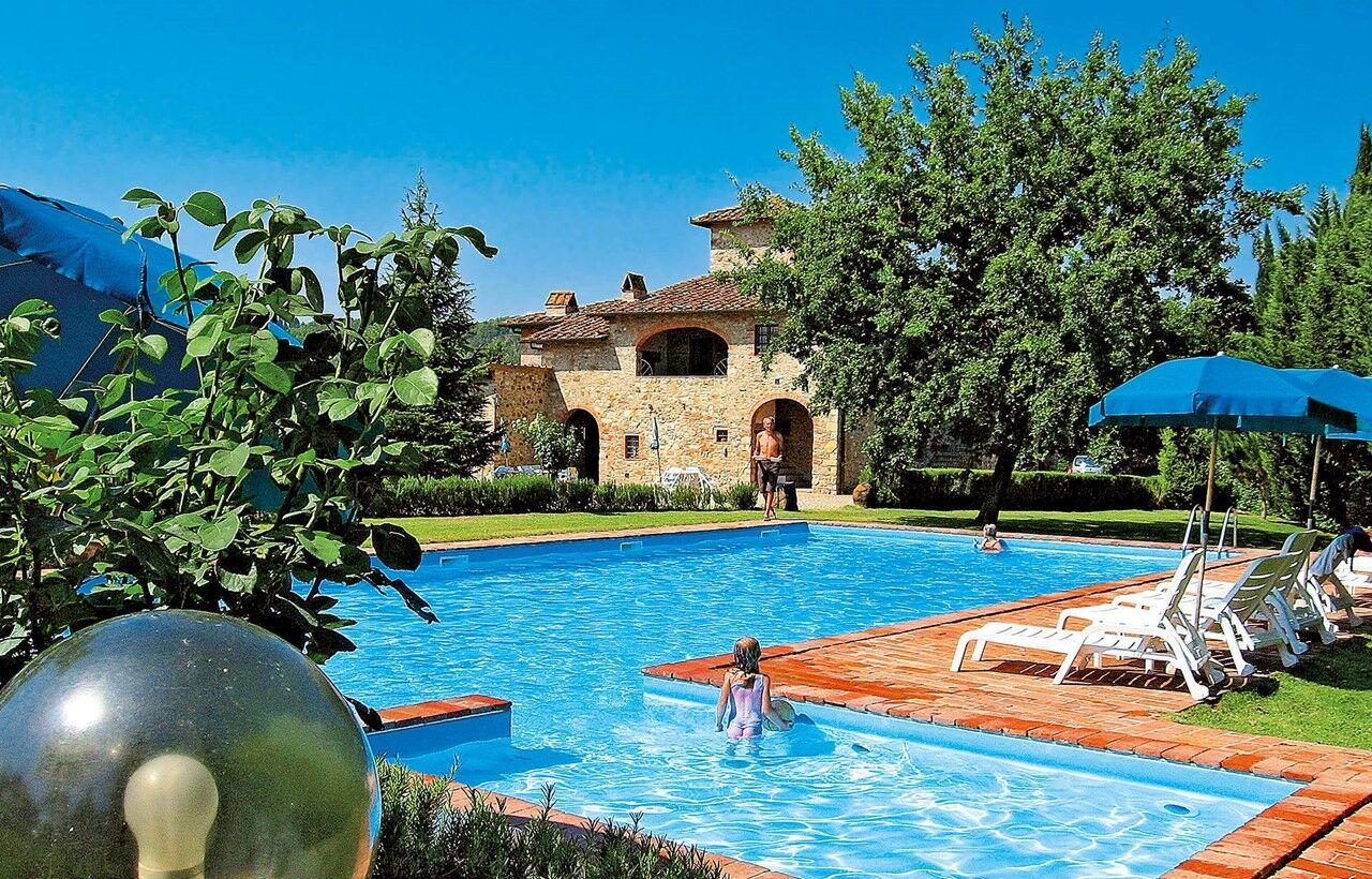 Carte Odalys Italie.Residence Fattoria Pratale A Tavernelle Val Di Pesa Odalys