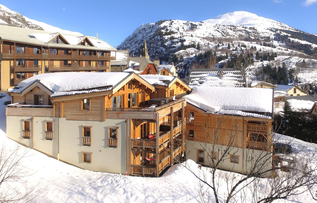 Ski chalet, Alpe d\'Huez - Odalys