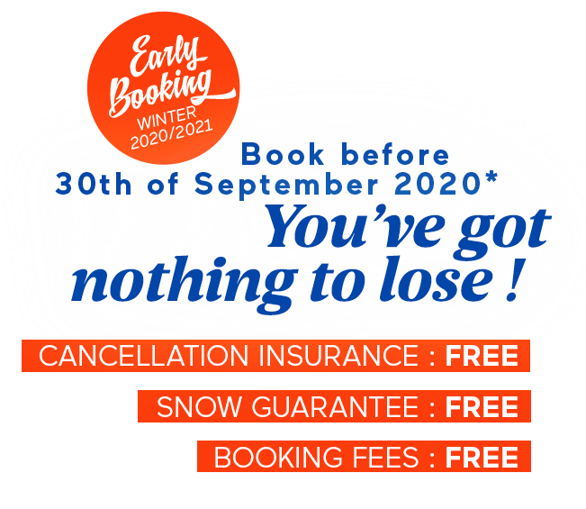 early booking ski offer