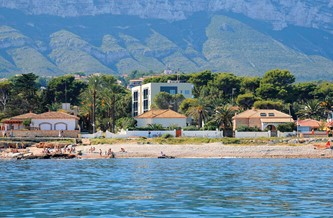 Calpe Espagne Ville De Vacance