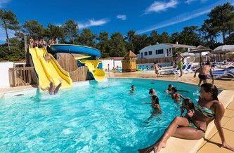 Location vacances avec toboggan aquatique odalys for Location camping avec piscine