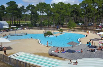 Campsite In Pine Forest With Heated Swimming Pool With Slide U0026 Large  Terrace. Free Family Entertainment. Parking. Wifi.
