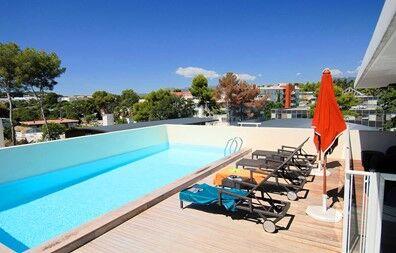 France - Côte d'Azur - Antibes - Hôtel-Résidence Olympe