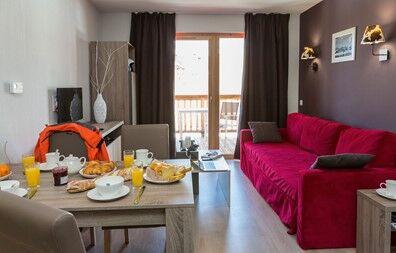 France - Alpes - La Plagne - Plagne Village - Résidence Prestige Odalys Front de Neige 4*
