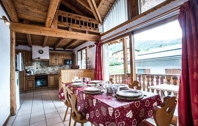 France - Alpes - Saint Martin de Belleville - Chalet Loutantin - 10 personnes