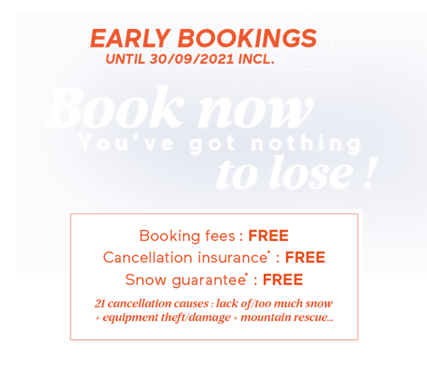 ski holiday early booking deal