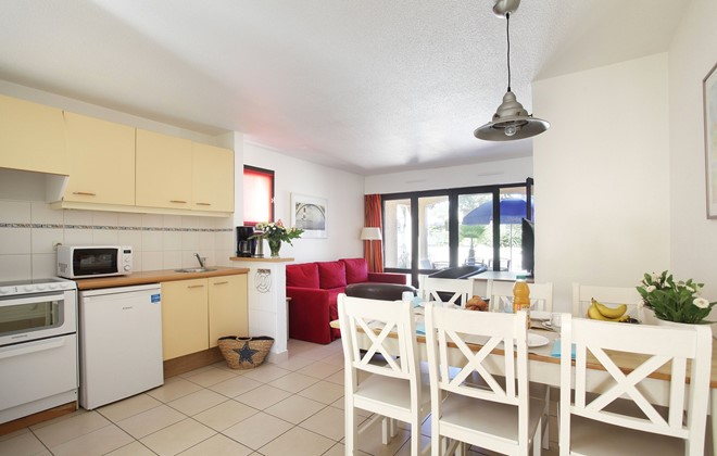 Cap d'Agde - Odalys Club Residence Saint Loup : Inside accommodation