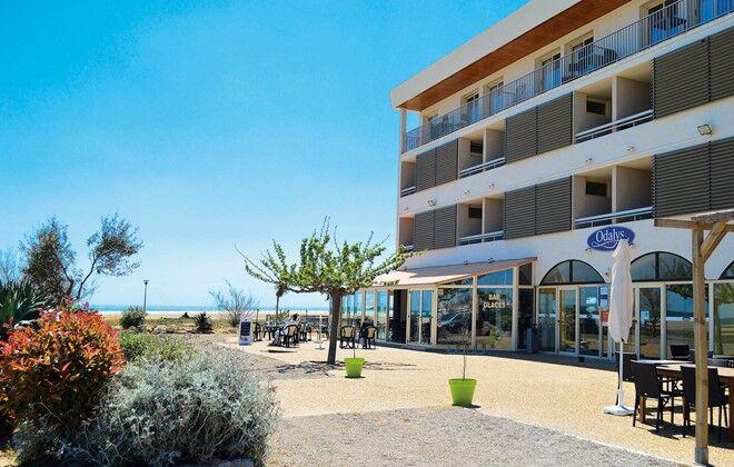 H tel r sidence le neptune saint pierre la mer odalys - Saint pierre la mer office du tourisme ...
