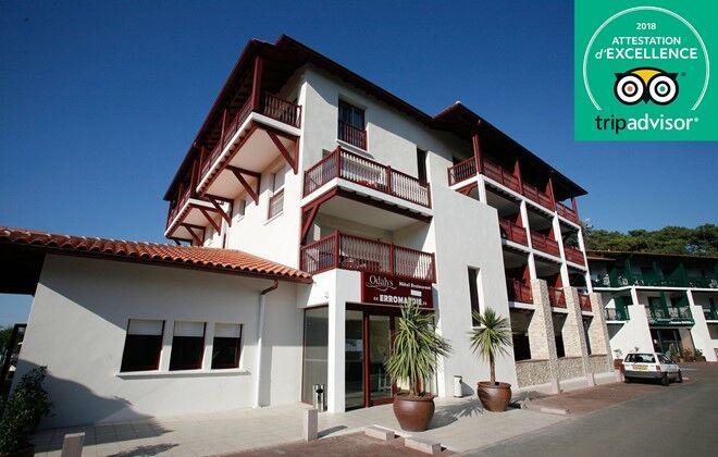 hotel odalys prestige hotel erromardie basque country. Black Bedroom Furniture Sets. Home Design Ideas
