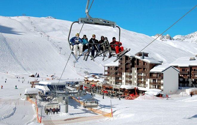 r sidence le rond point des pistes tignes skiez avec odalys. Black Bedroom Furniture Sets. Home Design Ideas