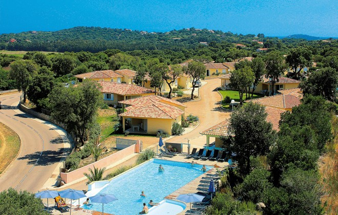 Sainte Lucie de Porto Vecchio - Odalys Residence San Martinu : Outdoor swimming pool