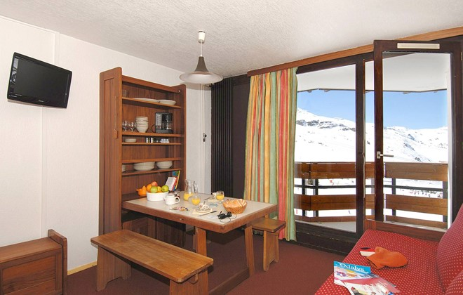 Val Thorens - Odalys Residence Tourotel : Inside of an apartment