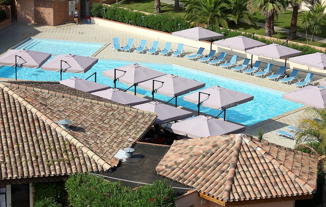 Bravone - Odalys Club Residence Sognu di Mare : Outdoor swimming pool