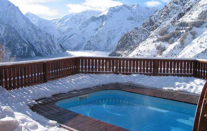 Chalet le ponton aux deux alpes skiez avec odalys for Hotel hautes alpes avec piscine