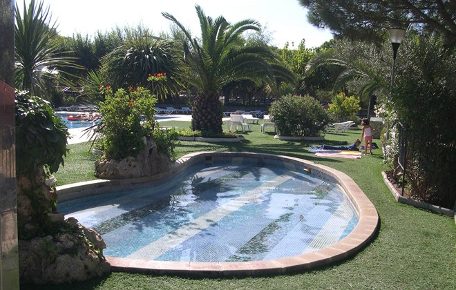 Espagne - Palamos - Camping King's : Pataugeoire